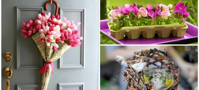 Как украсить интерьер дома и квартиры к празднику весны