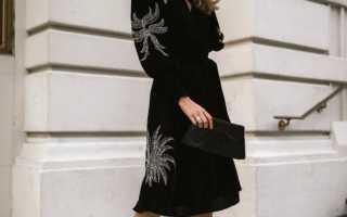 Самые красивые платья осень-зима 2020 – 60 фото