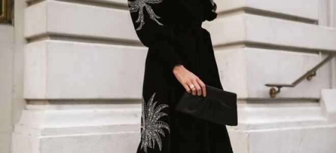 Клубные платья осень-зима 2020-2105