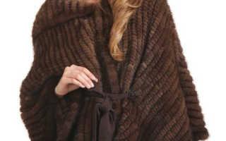 Вязаный мех и модные аксессуары