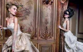 Стиль рококо, одежда в стиле рококо, фото