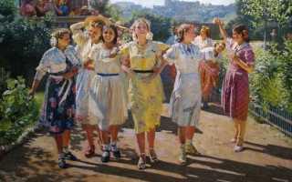 Советские женщины – картины 20-30 годов
