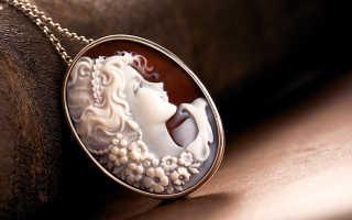 Камея как ювелирное украшение и история камеи