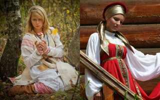 Традиционные русские прически и головные уборы Руси