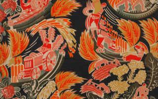 Советские агитационные ткани