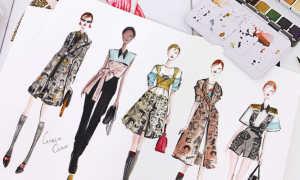 Fashion Иллюстрации – история и модные картинки