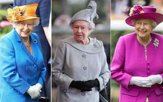 Стиль одежды и фото английской королевы Елизаветы II