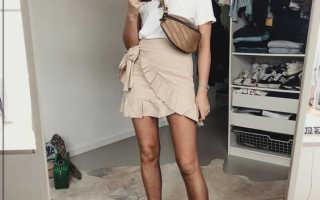 Фото дня – как красиво носить поясную сумку
