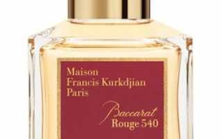 Аромат унисекс – Baccarat Rouge 540 от Maison Francis Kurkdjian