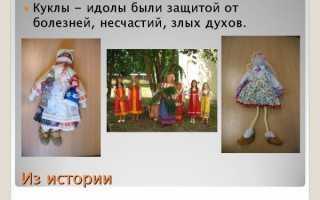 Моя любимая кукла, история кукол