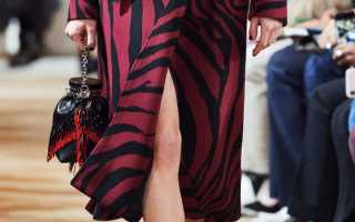 Бахрома в одежде и аксессуарах осень-зима 2020