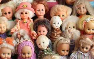 Какие куклы были у девочек в Советском Союзе