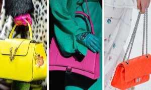Красивые неоновые сумки 2020