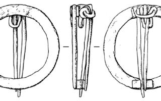Древние застежки фибулы и брошь-фибула – фото и история