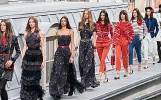Платья Chanel весна-лето 2020