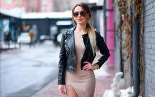 Женские кожаные куртки и жакеты 2020 года – фото лучших моделей