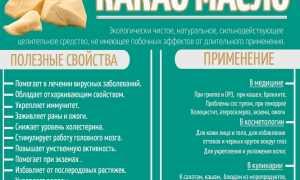Масло какао – применение в косметологии и домашних условиях