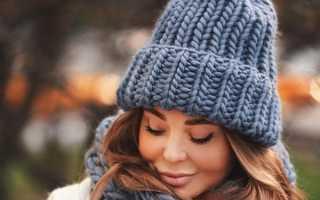 Модные вязаные шапочки, теплые шапки, зима 2020
