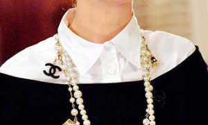 Оригинальная бижутерия Chanel – бусы и цепочки