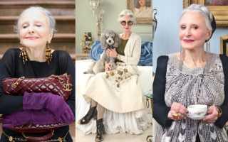 Мода для женщин 60 лет и старше – фото образов