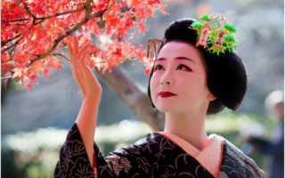 Традиционные японские прически – фото и история