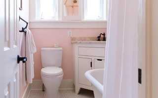 Розовый цвет в интерьерах – ванная комната в розовых тонах