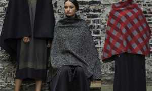 Пальто-накидки, кейпы и пальто-пончо 2020