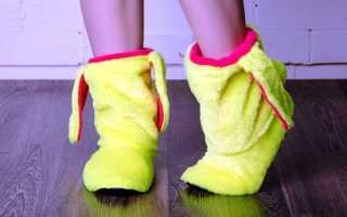 Стильная и уютная домашняя обувь из натуральных материалов