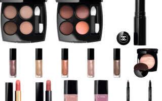 Декоративная косметика Chanel 2020