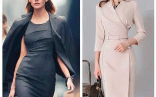 Стильные и красивые офисные платья 2020