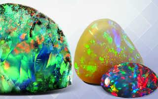 Опал – магические свойства камня и Украшения