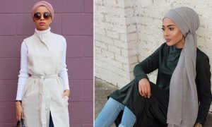 Красивый хиджаб – идеи и фото образов