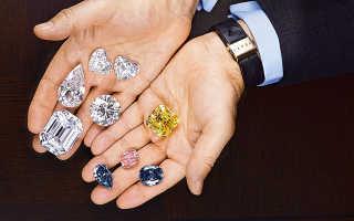 Ювелирные изделия с бриллиантами от Laurence Graff