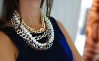 Цепи и цепочки 2020 – модная тенденция