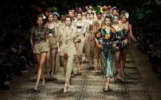 Dolce & Gabbana весна-лето 2020, фото коллекции