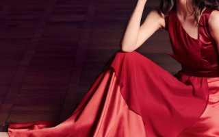 Красно-черные платья 2020 – 28 фото
