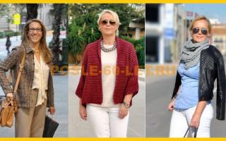 Мода и стиль для женщин за 60 – фото Валери фон Собел