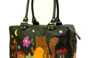 Модные меховые сумки – коты и кошки