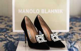 Туфли и ботильоны Manolo Blahnik на Новый год